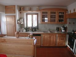 Cucina in frassino a finitura naturale