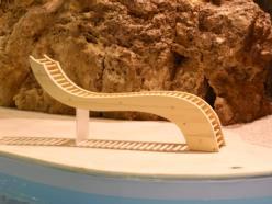 Panca Massaggio in legno di abete